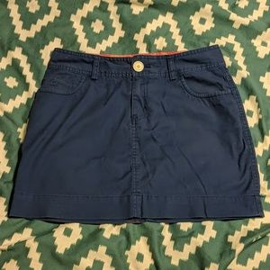 VV khaki skirt